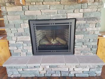 Majestic Gas Fireplace Meridian Platinum 36